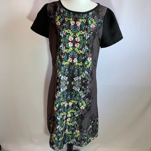 Yumi Fully Lined Floral Shift Dress